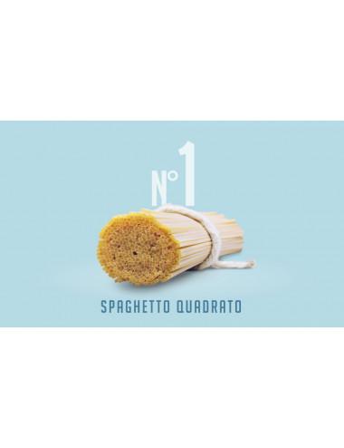 Classic square spaghetto n. 1