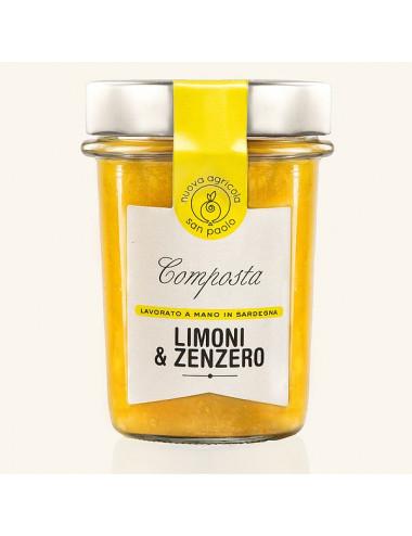 Jam lemon and ginger
