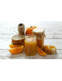 Orange, almonds and ginger Jam